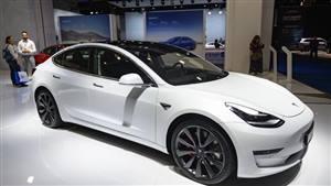 Tesla Model 3 Wedding car. Click for more information.