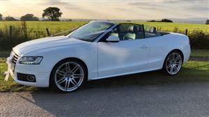 Audi A5 Quattro SLine  Wedding car. Click for more information.