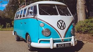 VW Campervan Wedding car. Click for more information.