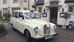 Fairway London Taxi  Wedding car. Click for more information.