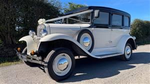 Heritage Badsworth Wedding car. Click for more information.