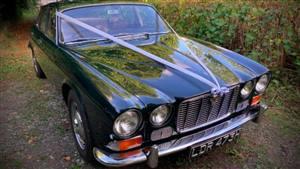 Jaguar 1969 Jaguar XJ6 Wedding car. Click for more information.