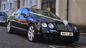 Bentley Continental Flying Spur Wedding car. Click for more information.