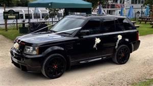 Land Rover Range Rover Sport Wedding car. Click for more information.