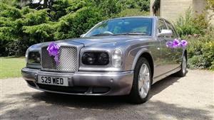 Bentley Arnage Wedding car. Click for more information.