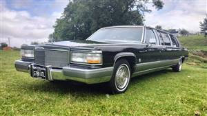 Cadillac Brougham Wedding car. Click for more information.