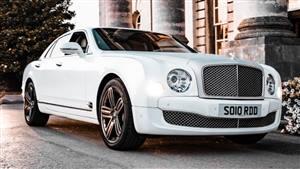 Bentley Mulsanne Wedding car. Click for more information.
