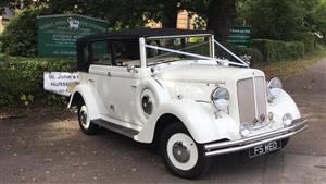 Regent Laundalette  Wedding car. Click for more information.