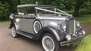 Regent Laundaulette Wedding car. Click for more information.