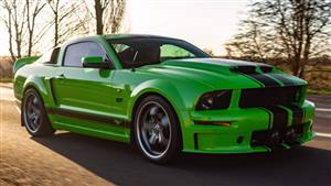 Ford Mustang GT V8 GT Supercharged Wedding car. Click for more information.